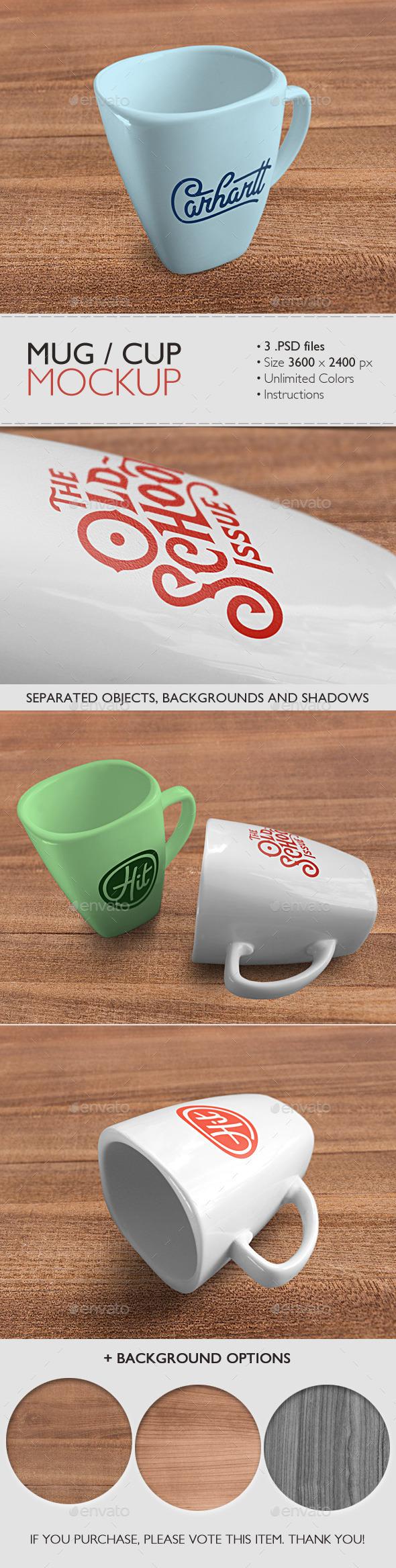 GraphicRiver Mug Cup Mockup 9198903