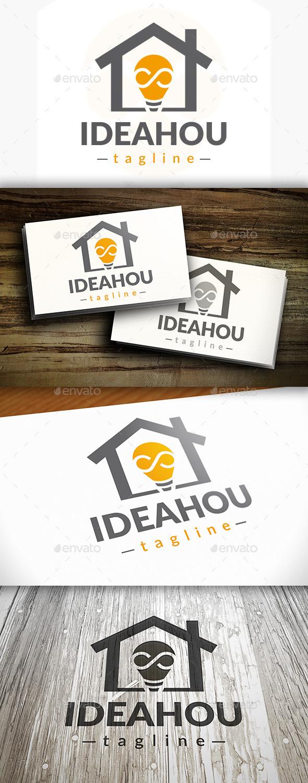 GraphicRiver Idea House Logo 9199039