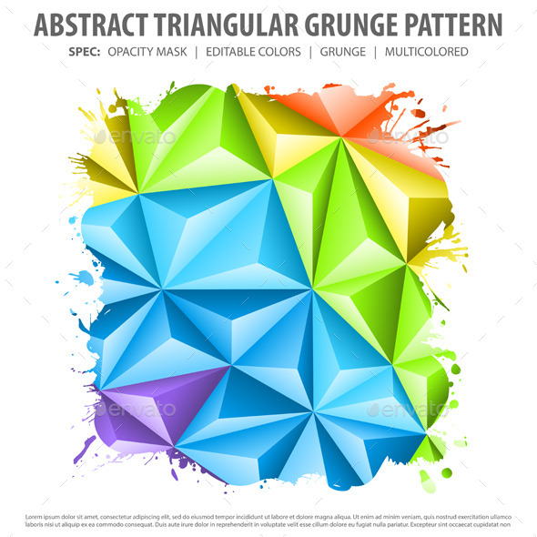 GraphicRiver Abstract Mosaic Pattern 9199057