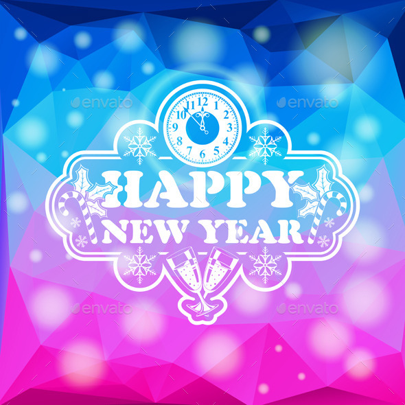 GraphicRiver New Year Mosaic Pattern 9199059