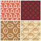 Vector Coffee Seamless Patterns  - GraphicRiver Item for Sale