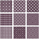 Vector Seamless Patterns in Trendy Mono Line Style - GraphicRiver Item for Sale
