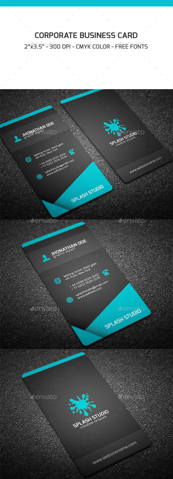 GraphicRiver Corporate Business Card 9199244