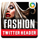 Fashion Sale Twitter Header - GraphicRiver Item for Sale