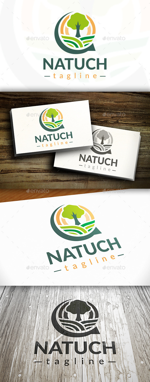 GraphicRiver Nature Chat Logo 9199265