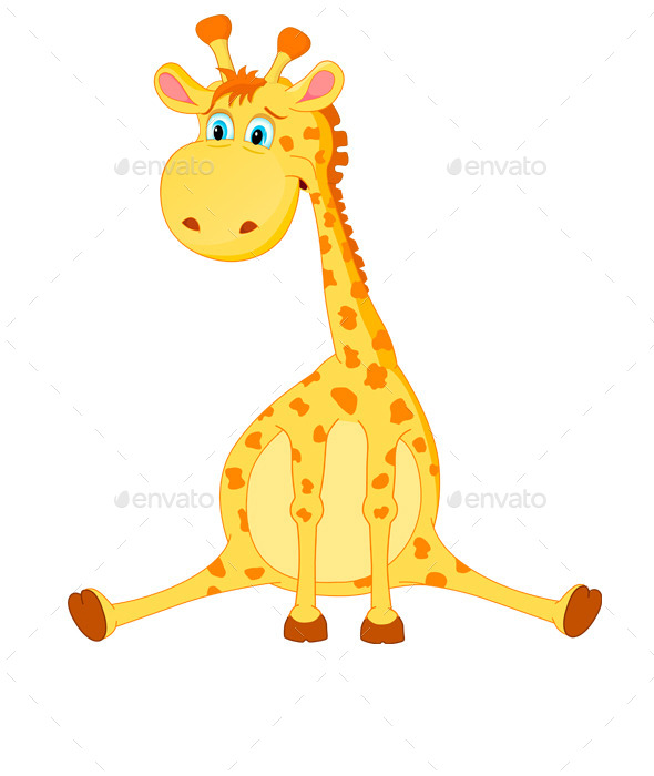 GraphicRiver Giraffe Vector 9199340