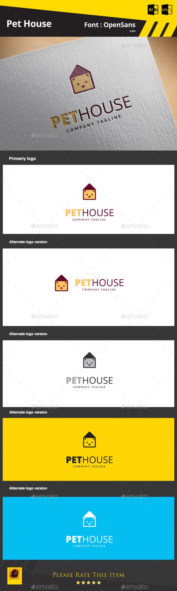 GraphicRiver Pet House 9199378