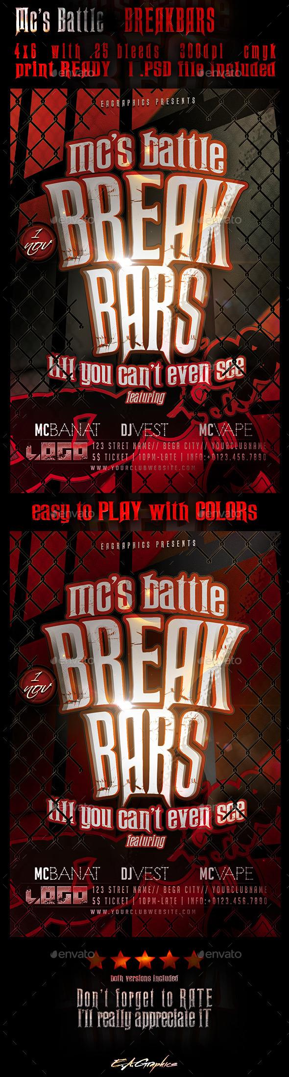 GraphicRiver Mc s Battle BreakBars 9199430