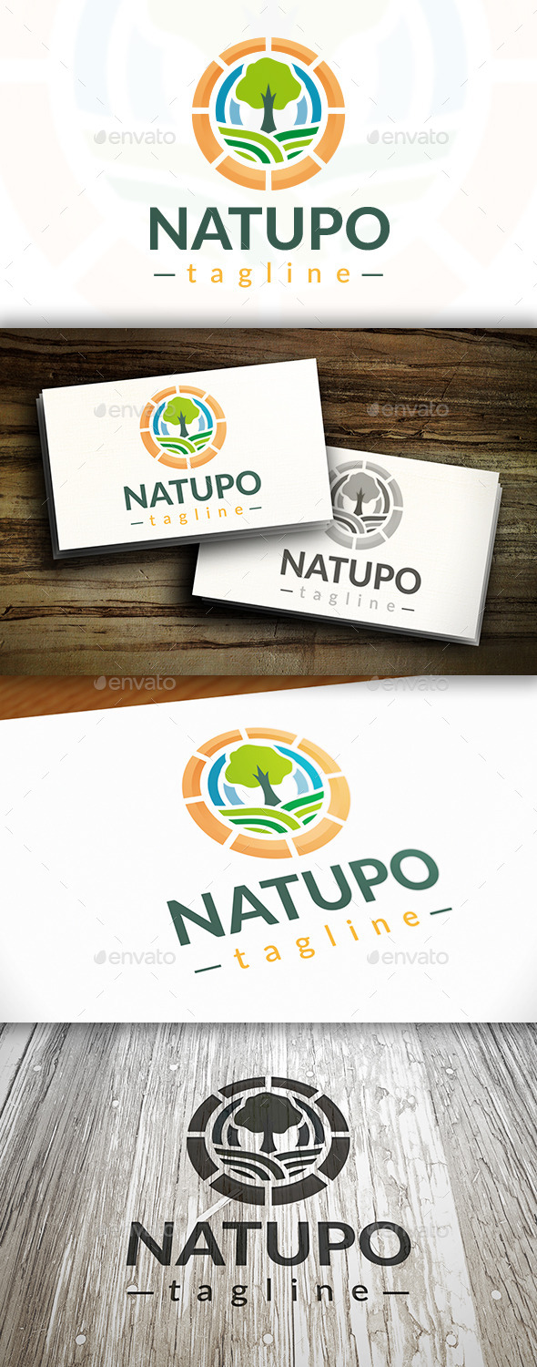 GraphicRiver Tree Power Logo 9199435