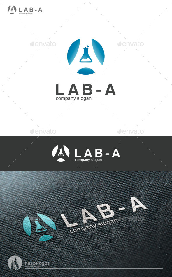 GraphicRiver Lab A Logo 9199443