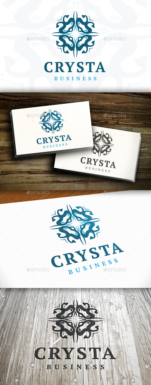 GraphicRiver Elegant Crest Logo Template 9199909