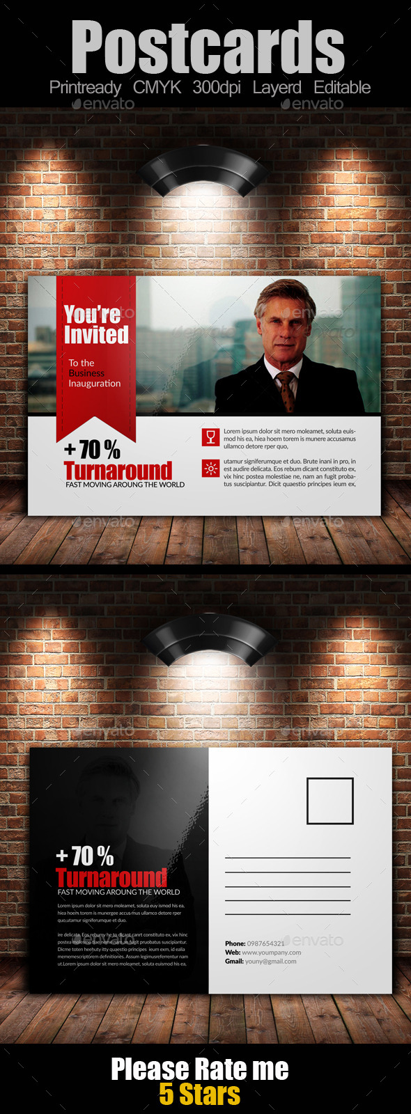 GraphicRiver Ultimate Multiuse Business Postcard 9164224
