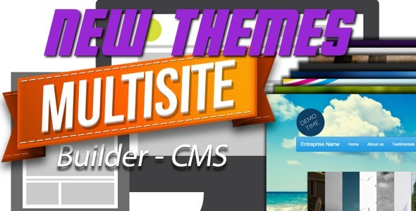 CodeCanyon New Themes for MultiSite Builder CMS 9200404