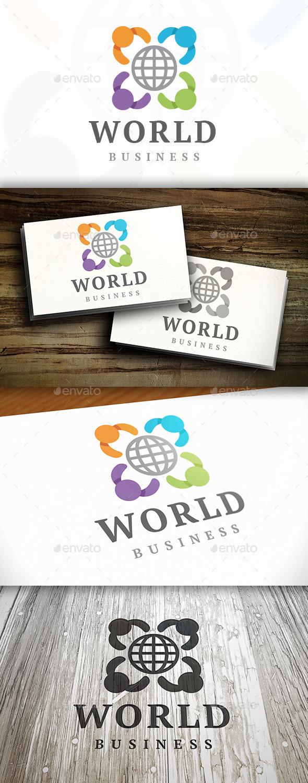 GraphicRiver Kids World Logo Template 9200602