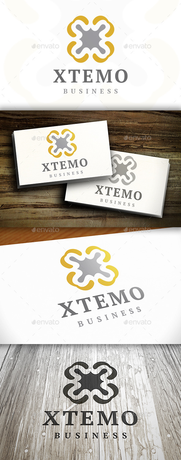 GraphicRiver Abstract X Logo 9200924