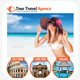 A4 Tour Travel Flyer - GraphicRiver Item for Sale