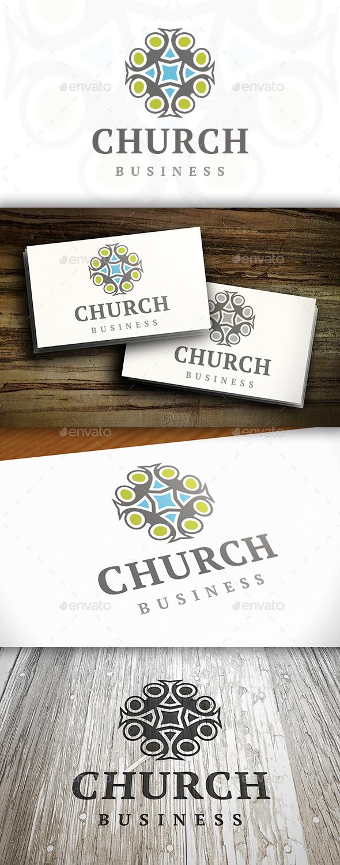 GraphicRiver Church Crest Logo 9201026