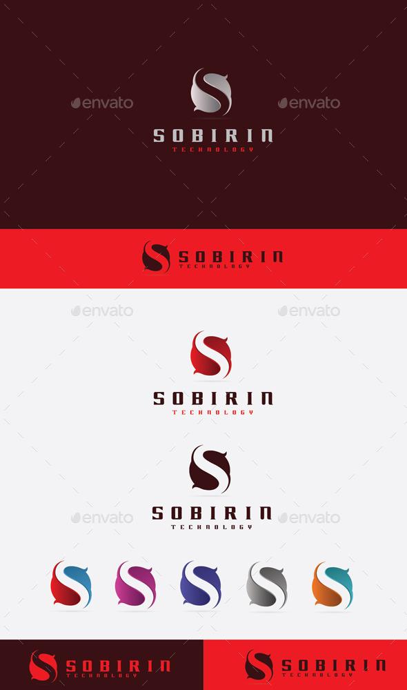 GraphicRiver S Sobirin Logo 9201047