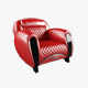 Carbon Imola Armchair - 3DOcean Item for Sale