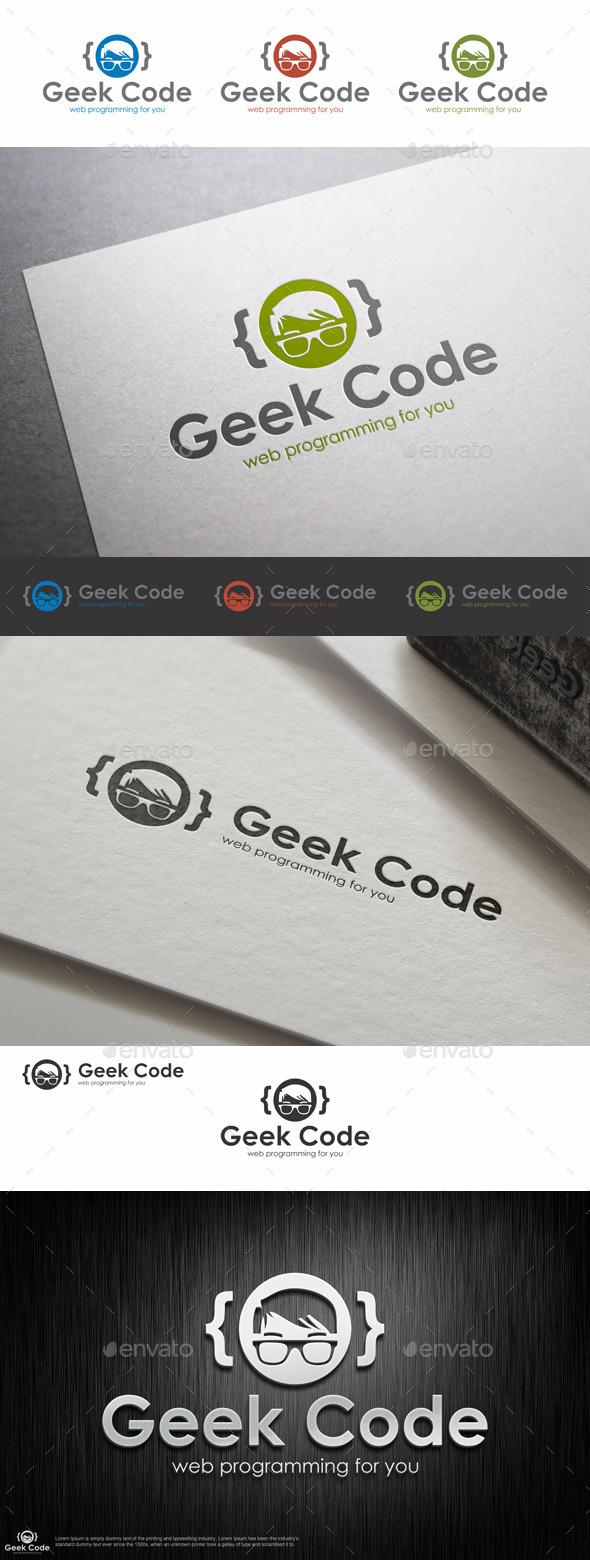 GraphicRiver Geek Code Logo Template 9201145