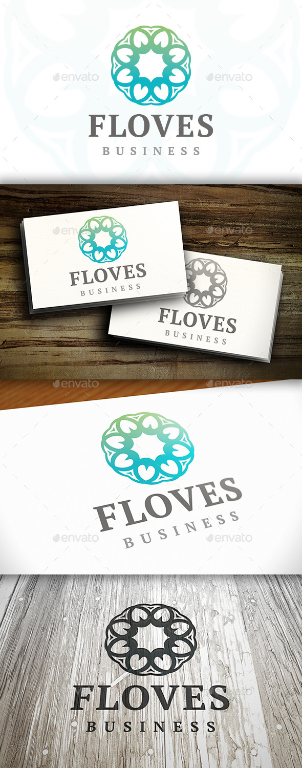 GraphicRiver Elegant Flower Logo 9201311