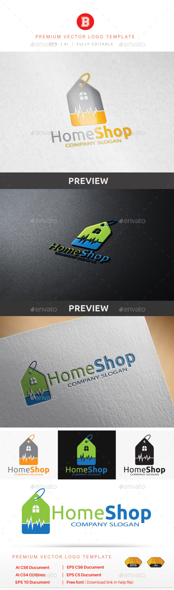 GraphicRiver Home Shop 9201448