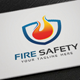 Fire Safety Logo - GraphicRiver Item for Sale