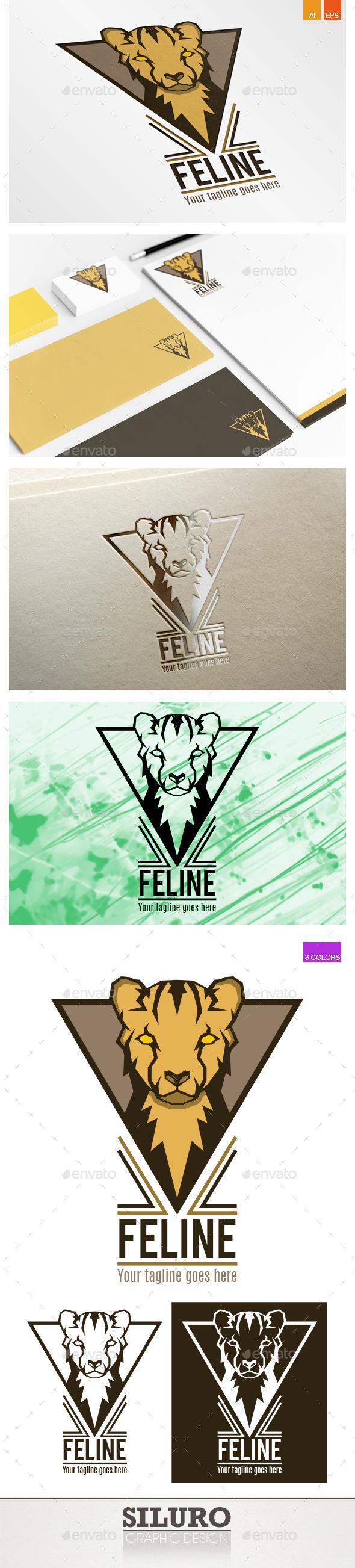 GraphicRiver Feline Logo 9201659