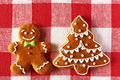 Christmas homemade gingerbread man cookie - PhotoDune Item for Sale