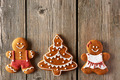 Christmas gingerbread couple and tree cookies - PhotoDune Item for Sale