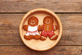 Christmas gingerbread couple - PhotoDune Item for Sale