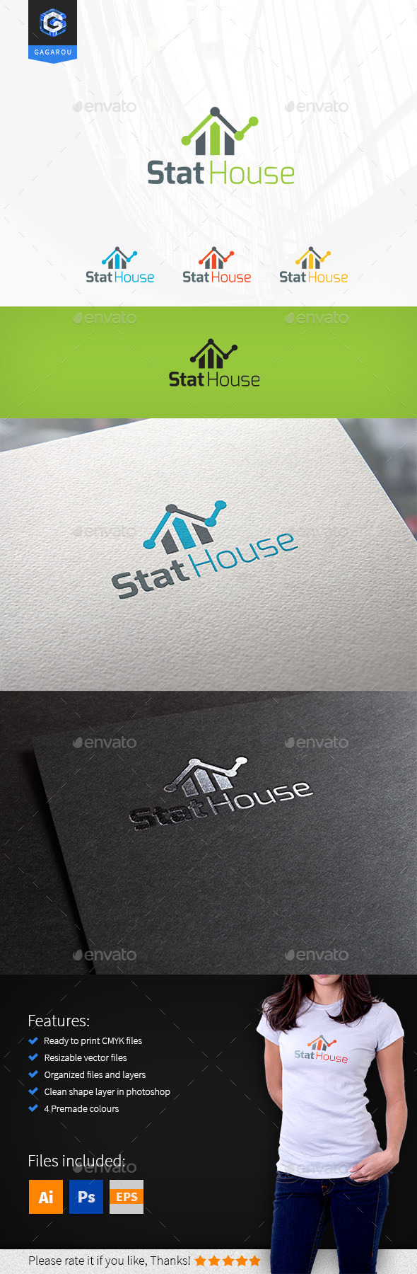 GraphicRiver Stat House 9202058