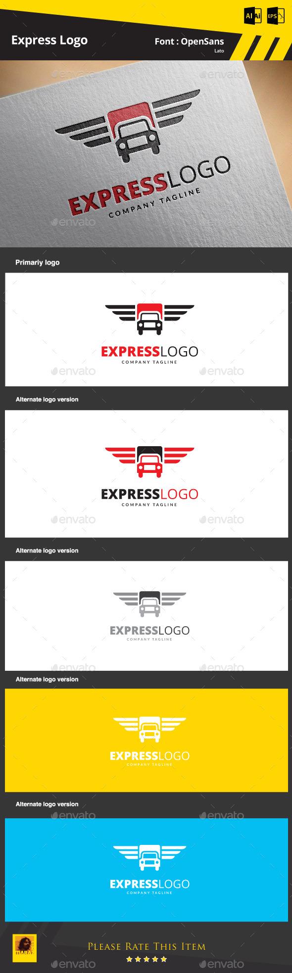 GraphicRiver Express Logo 9202091