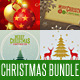 Christmas Card Backgrounds Bundle - GraphicRiver Item for Sale