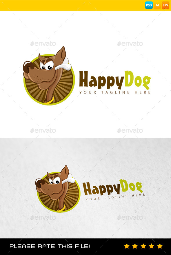 GraphicRiver Dog Logo 9202141
