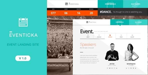 Eventicka | Event Landing Page & Ticketing
