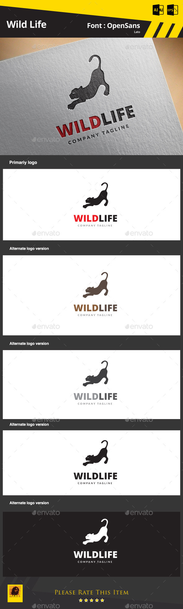 GraphicRiver Wild Life 9187274