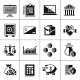 Finance Icons Set Black - GraphicRiver Item for Sale