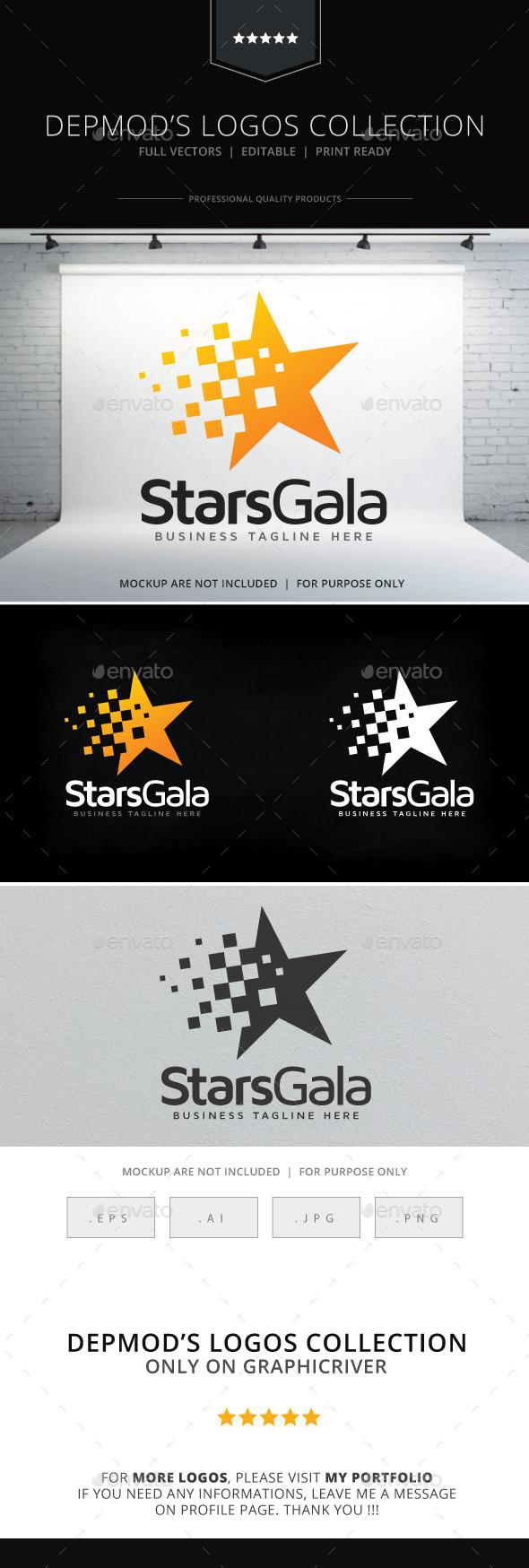 GraphicRiver Stars Gala Logo 9202602