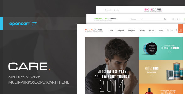 ThemeForest Lexus CareBeauty Opencart Theme 9202657