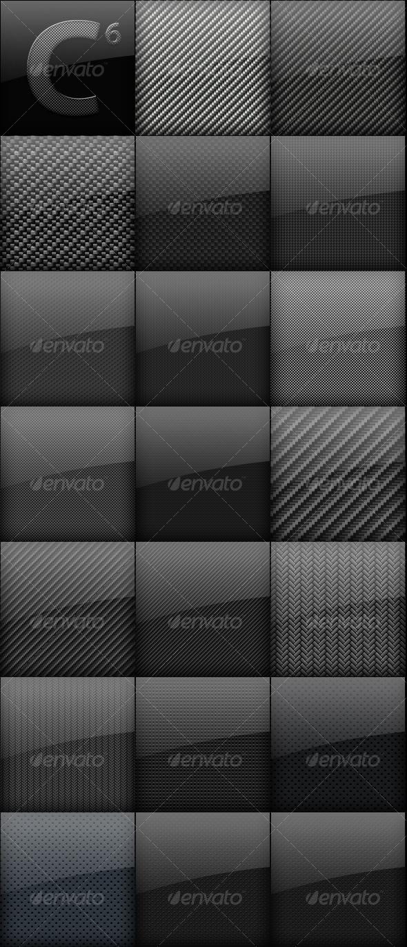 GraphicRiver Carbon Fiber Backgrounds Mega Pack 38597