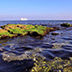 Rocky Beach and Passenger Ship - VideoHive Item for Sale