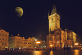 Prague Old Town Hall at Night - PhotoDune Item for Sale