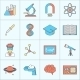 Science and Research Icons - GraphicRiver Item for Sale