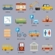 City Infrastructure Icons - GraphicRiver Item for Sale