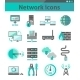 Network Icons Set - GraphicRiver Item for Sale