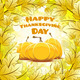 Happy Thanksgiving Day card - PhotoDune Item for Sale