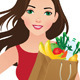 Healthy Eating Secret of Beauty - GraphicRiver Item for Sale