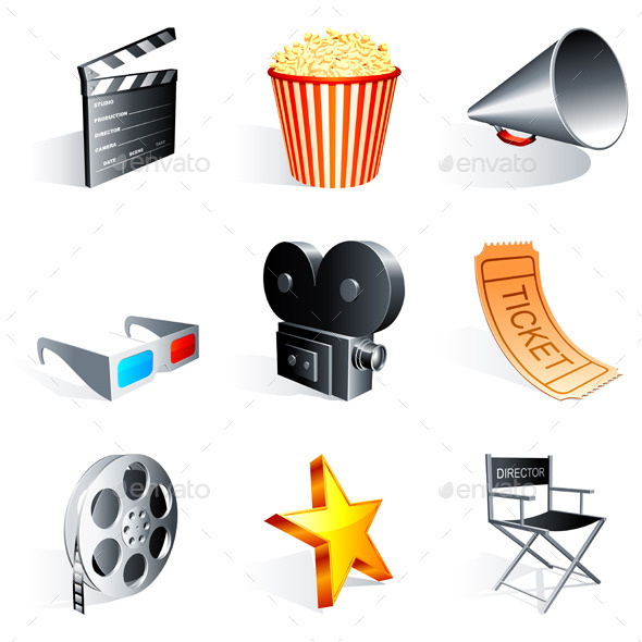 GraphicRiver Movie Icons 9203985