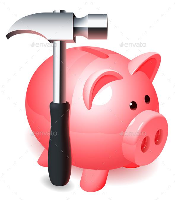 GraphicRiver Piggy Bank 9204047